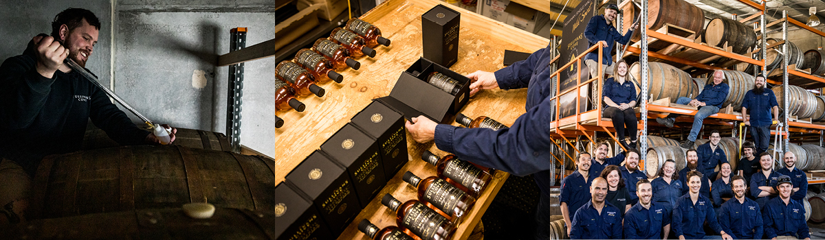 Sullivans Cove Distillery crafts some of Australia's finest whisky.
